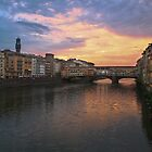 Florence - Sunset by Stephen Cross Photography