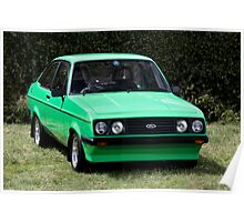 Ford Escort RS2000 MK2 Poster