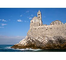 Portovenere - Chiesa San Pietro Photographic Print