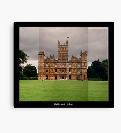 Highclere Castle - Newbury, Berkshire Canvas Print