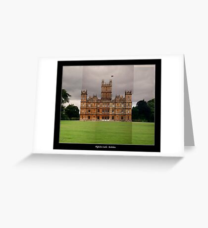 Highclere Castle - Newbury, Berkshire Greeting Card