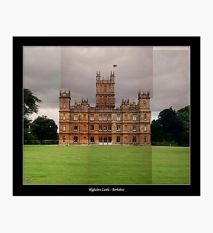 Highclere Castle - Newbury, Berkshire Photographic Print