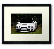 Toyota Celica GT4 Framed Print