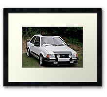Ford Escort RS1600i Framed Print