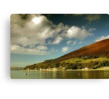 Loch Ranza, Newton Point Canvas Print