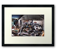 Bumpers, Grills, Doors And More Framed Print