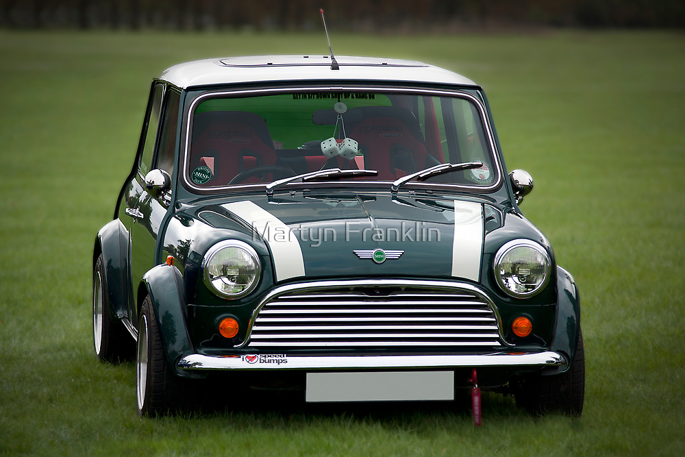Mini Cooper by Martyn Franklin