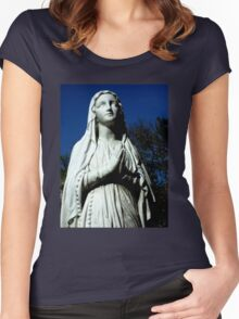 Praying for the sick, St Vicent Hospital, Toowoomba, Qld, Australia Women's Fitted Scoop T-Shirt