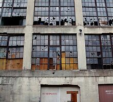 no trespassing - factory findings by iannarinoimages