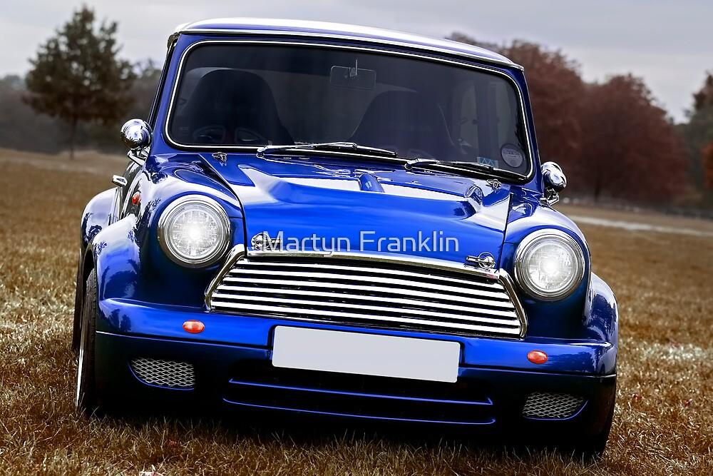 Classic old Mini by Martyn Franklin