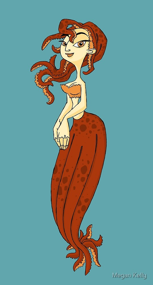 octopus girl by Megan Kelly