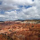 Cedar Breaks on a Puffy Cloud Day by jsmusic