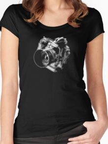 Camera From Heaven Women's Fitted Scoop T-Shirt
