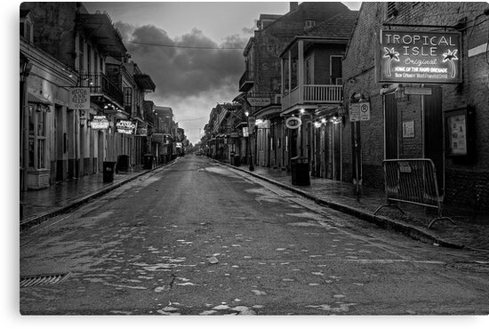 Bourbon Street  by Jeff Clark