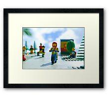 'Lego Land' Framed Print