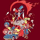 traveling circus by Megan Kelly