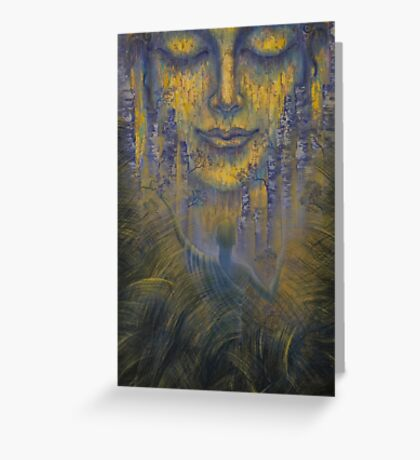 Facing the Truth Greeting Card