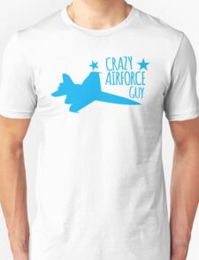 Crazy Airforce guy T-Shirt
