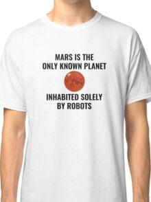 Mars Robot Classic T-Shirt