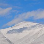 Snow Bound Skiddaw by Jacqueline Wilkinson