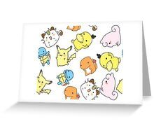 Pokemon Troll Greeting Card