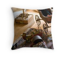 Old Toys Throw Pillow