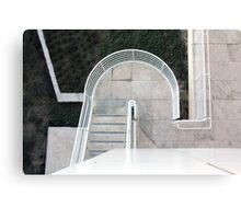 Sculptural Stair Canvas Print