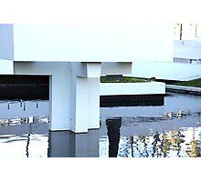 Sculptural Fountain Photographic Print