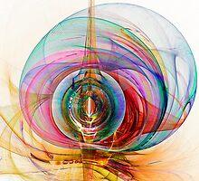 Jellyfish Fractal  by Beatriz  Cruz