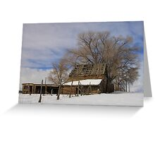 Country Barn Greeting Card