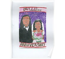 19th Anniversary wedding Poster