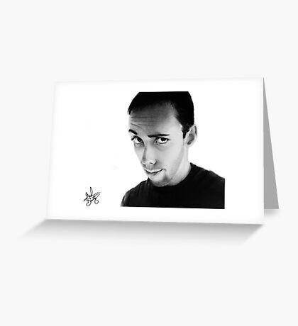 Self Portrait 2009 Greeting Card