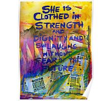 Being Clothed in STRENGTH Poster