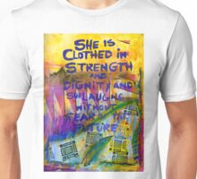 Being Clothed in STRENGTH Unisex T-Shirt
