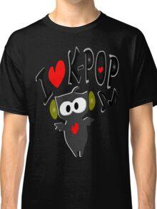 I love kpop owl vector art Classic T-Shirt