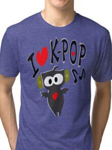 I love kpop owl vector art Tri-blend T-Shirt