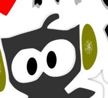 I love kpop owl vector art Sticker