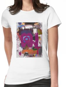"""Thai Characters """"ฒ"""" Womens Fitted T-Shirt"""