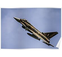 Eurofighter Typhoon ZK349 Poster