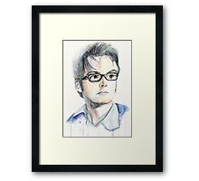 Tenth Doctor (David Tennant) Framed Print