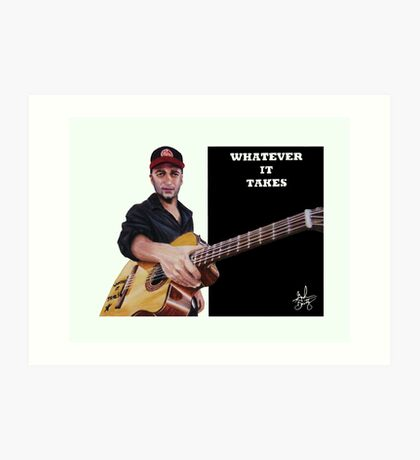 Tom Morello: The Nightwatchman Art Print