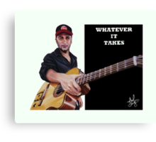 Tom Morello: The Nightwatchman Canvas Print