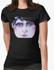 Blue-eyed Womens Fitted T-Shirt
