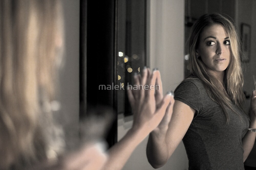 Mirror in a mirror by malek haneen