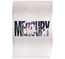 Astronaut - Mercury Cover Poster