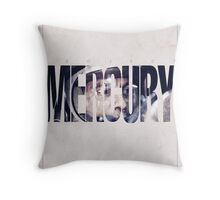 Astronaut - Mercury Cover Throw Pillow