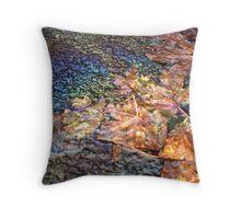 human on nature Throw Pillow