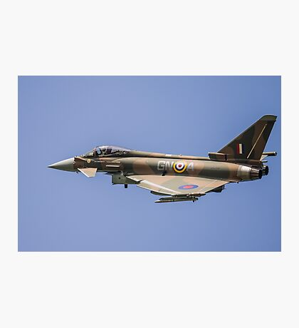 raf typhoon zk349 Photographic Print