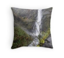 mountain of water Throw Pillow