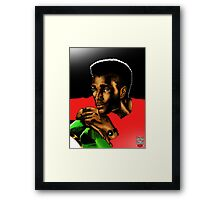 Fashion Male Framed Print